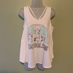 Golden Girls Stay Golden Tank, Size Medium